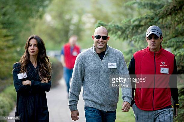Ali Kay cofounder and designer of Keep Me Co left Alex von Furstenberg comanaging member and chief investment officer of Arrow Capital Management LLC...