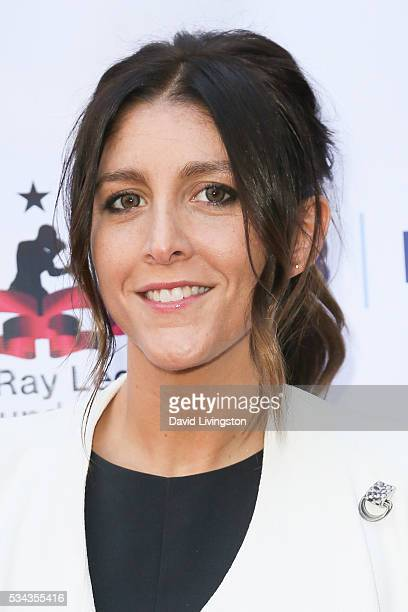 Ali King arrives at the 7th Annual Big Fighters Big Cause Charity Boxing Night Benefiting The Sugar Ray Leonard Foundation at The Ray Dolby Ballroom...