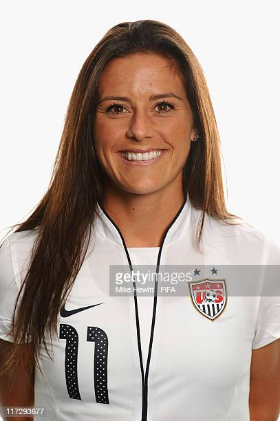 Ali Kreiger of USA during the FIFA portrait session on June 25 2011 in Dresden Germany