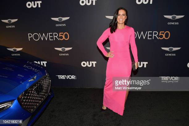 Ali Krieger attends OUT Magazine's Power 50 Award Celebration Presented By Genesis at NeueHouse Los Angeles on September 27 2018 in Hollywood...