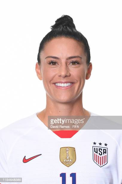 Ali Krieger of the USA poses for a portrait during the official FIFA Women's World Cup 2019 portrait session at Best Western Premier Hotel de la Paix...