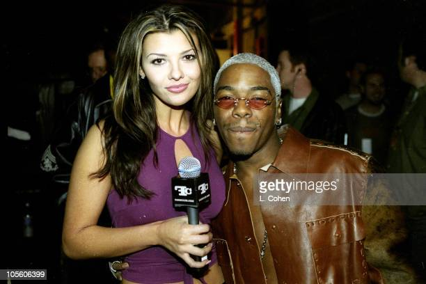 Ali Landry and Sisqo during FarmClubcom Taping March 5 2000 in Los Angeles California United States