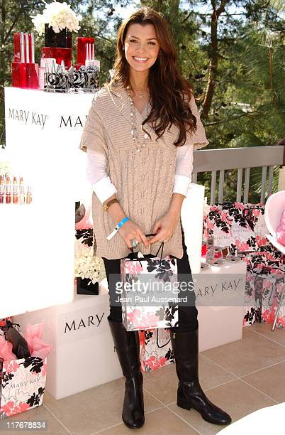 Ali Landry at Mary Kay during 2007 Silver Spoon Golden Globes Suite Day 2 in Los Angeles California United States Photo by JeanPaul...
