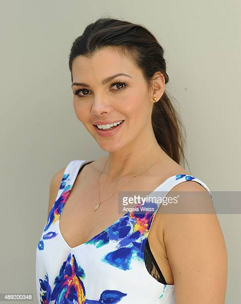 Ali Landry attends attends Favoredby Presents The 4th Annual Red CARpet Safety Awareness Event at Skirball Cultural Center on September 19 2015 in...