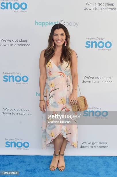 Ali Landry attends Jessica Biel and Dr Harvey Karp Celebrate Moms Dads and their Favorite Helper the SNOO at Au Fudge Los Angeles on May 16 2018 in...