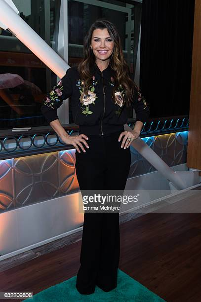 Ali Landry attends 'Lisa Edelstein and DB Woodside visit Hollywood Today Live' at W Hollywood on January 20 2017 in Hollywood California
