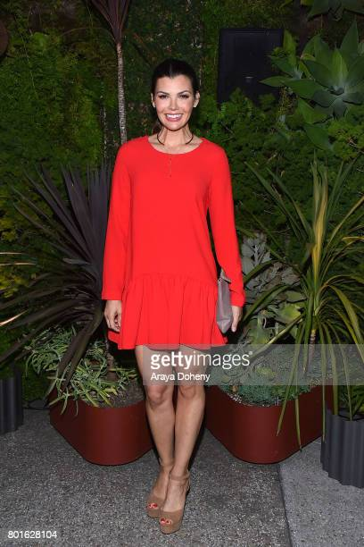 Ali Landry attends the Official Raze Launch Party at Smogshoppe on June 26 2017 in Los Angeles California