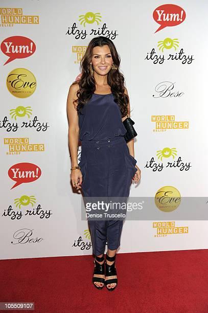 Ali Landry attends World Hunger Relief Fundraiser for UN World Food Program at Eve Nightclub on October 11 2010 in Las Vegas Nevada