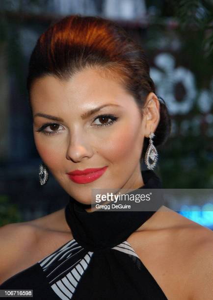 Ali Landry during Academy Awards Celebration Dinner By Children Uniting Nations The Creative Coalition and Rock The Vote at The House of Blues in...