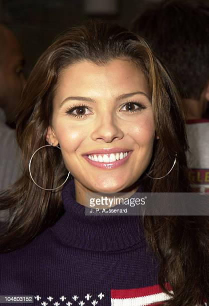 Ali Landry during American Eagle Outfitters Customization Workshop at American Eagle Outfitters Showroom in Los Angeles California United States