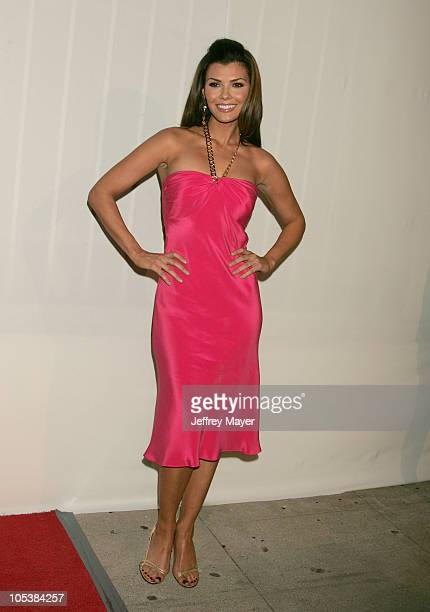 Ali Landry during CBS and UPN 2005 TCA Party Arrivals at Quixote Studios in Los Angeles California United States