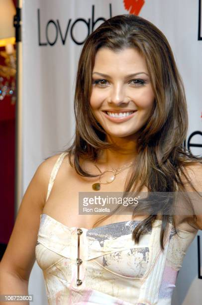 Ali Landry during Jessica Simpson Kelly Rowland and Ali Landry Showcase Their Photographs of Lovable Bras to Benefit Charities at Serena Bar in New...