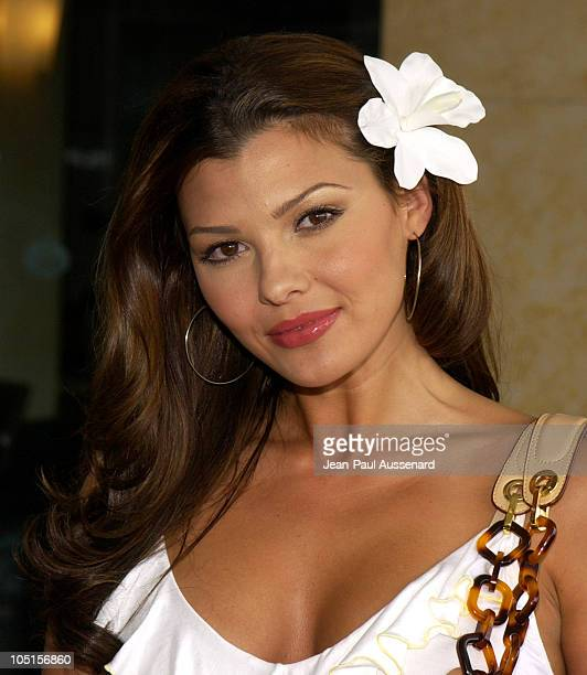 Ali Landry during Television Critics Association UPN Day Arrivals at Renissance Hotel in Hollywood California United States