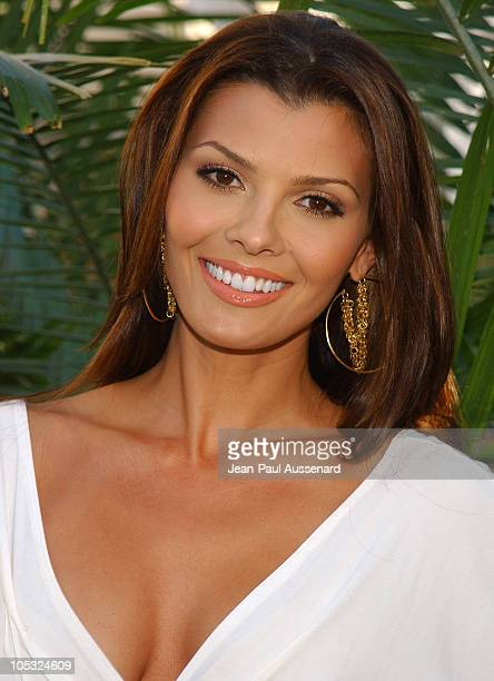 Ali Landry during UPN All Star Summer Party at Shutters in Santa Monica California United States