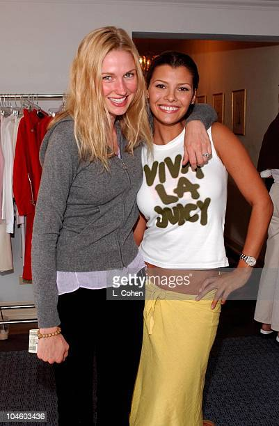 Ali Landry enjoying a day of indulgences in the Juicy Couture suite at the Chateau Marmont in Hollywood
