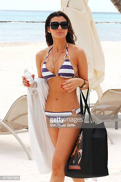 Ali Landry is seen at the beach on January 07 2011 in Los Angeles California