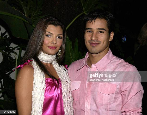 Ali Landry Mario Lopez during Exclusive Artists Management Launch Party at The Sunset Room in Hollywood California United States
