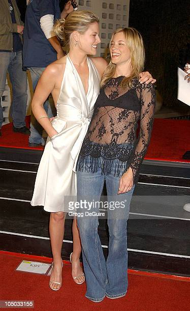Ali Larter and Amy Smart during 'Final Destination 2' Premiere at Cinerama Dome in Hollywood California United States