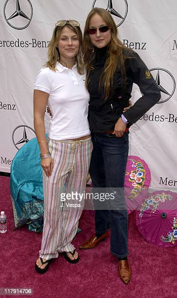 Ali Larter and Leelee Sobieski at the Target A Time for Heroes Celebrity Carnival Benefitting the Elizabeth Glaser Pediatric AIDS Foundation