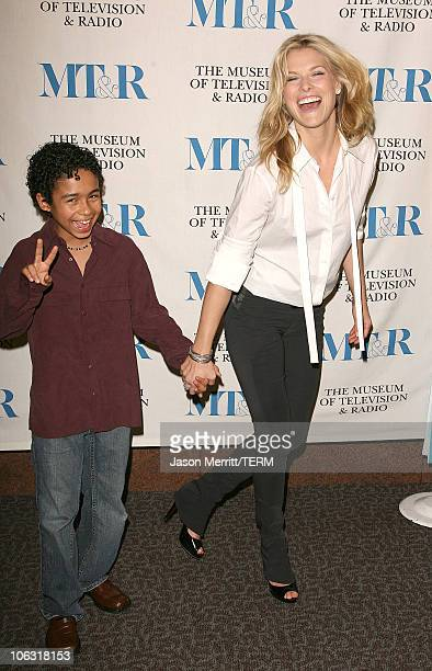 Ali Larter and Noah GrayCabey during The 24th Annual William S Paley Television Festival An Evening with 'Heroes' at DGA in Hollywood California...