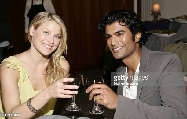 """Ali Larter and Senhil Ramamurthy during The Academy of Television Arts and Sciences Presents An Evening with """"Heroes"""" - VIP Reception at Leonard H...."""