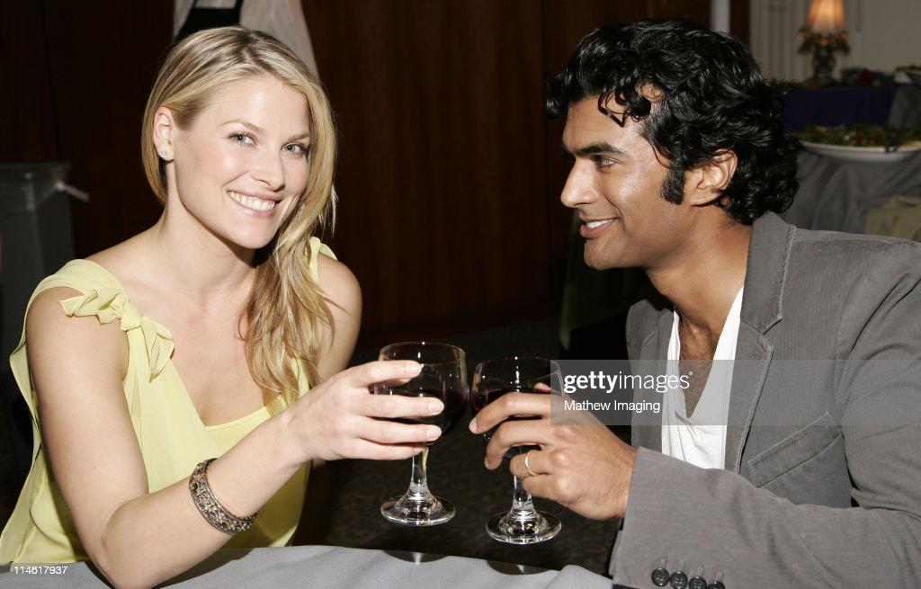 Ali Larter and Senhil Ramamurthy during The Academy of Television Arts and Sciences Presents An Evening with 'Heroes' - VIP Reception at Leonard H. Goldenson Theatre in North Hollywood, California, United States.