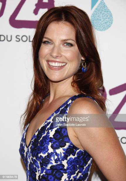 Ali Larter arrives for the Cirque Du Soleil Opening Night Gala For Kooza at Santa Monica Pier on October 16 2009 in Santa Monica California