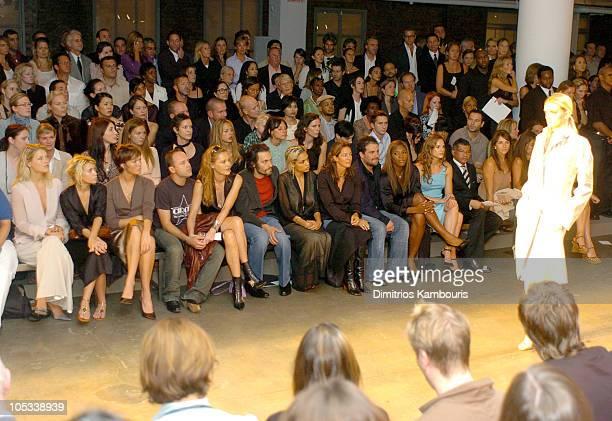 Ali Larter Ashley Olsen Mandy Moore Lars Ulrich Connie Nielsen Vincent Gallo Rosario Dawson Kelly Klein Bret Ratner Serena Williams Hilary Swank and...