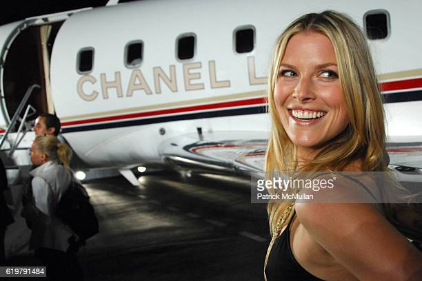 Ali Larter at CHANEL Cruise Show LA Post Show at Santa Monica Airport on May 18 2007 in Santa Monica CA