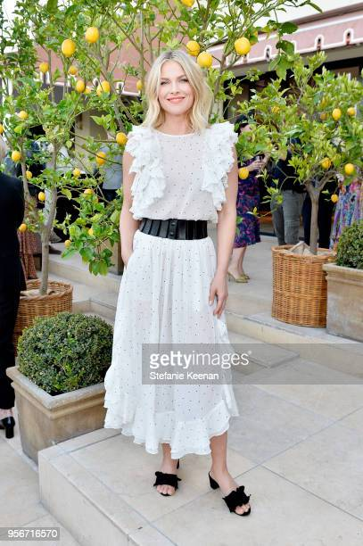 Ali Larter attends Aerin Lauder Crystal Lourd and Jennifer Meyer Host a Dinner in Celebration of the AERIN SS18 Collection by Williams Sonoma at...