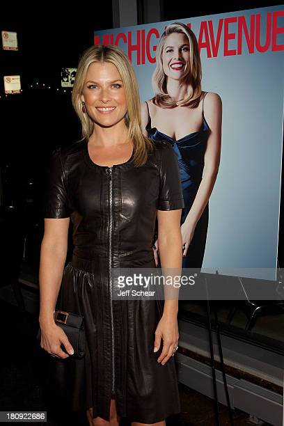 Ali Larter attends Ali Larter Hosts Michigan Avenue Magazine's September Issue Celebration at Siena Tavern on September 17 2013 in Chicago Illinois