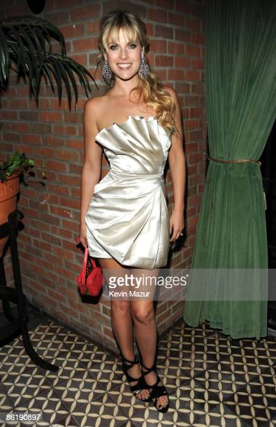 Ali Larter attends the after party for the Cinema Society and MCM screening of Obsessed at the Bowery Hotel on April 23 2009 in New York City