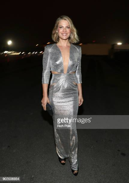 Ali Larter attends The Art of Elysium presents John Legend's HEAVEN at Barker Hangar on January 6 2018 in Santa Monica California