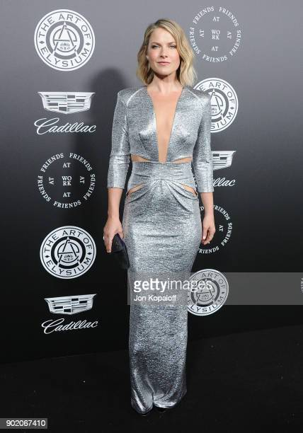 Ali Larter attends The Art Of Elysium's 11th Annual Celebration Heaven at Barker Hangar on January 6 2018 in Santa Monica California