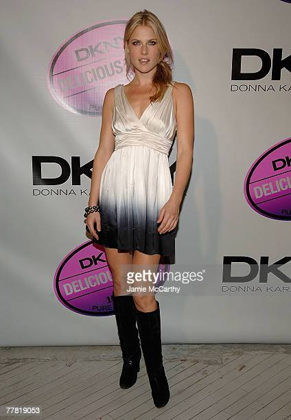 Ali Larter attends the DKNY Delicious Night Fragrance Launch Party in New York October 72007