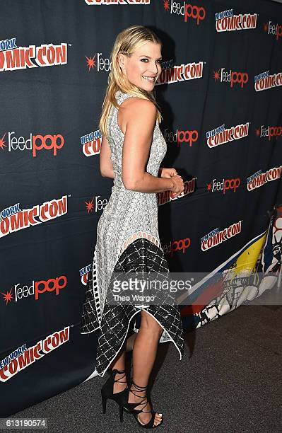 Ali Larter attends the Resident Evil Photo Call at Jacob Javits Center on October 7 2016 in New York City
