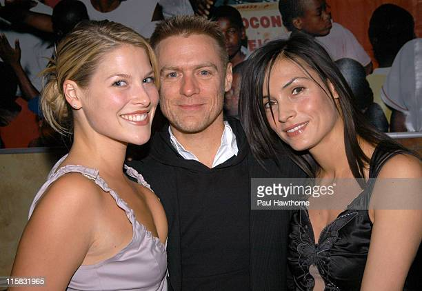 Ali Larter Bryan Adams and Famke Janssen during Sugar Spice Step Up's Second Annual Holiday Benefit Hosted By Ali Larter and Karen Lauder New York at...