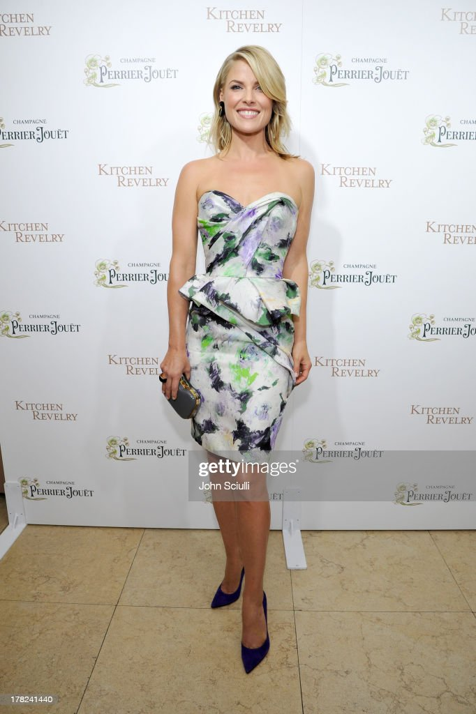 Ali Larter celebrates the release of her new cookbook 'Kitchen Revelry' with Perrier-Jouet at Sunset Tower on August 27, 2013 in West Hollywood, California.