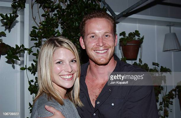 Ali Larter Cole Hauser during Ingenue Magazine Launch Party Inside at The Sky Bar At The Mondrian Hotel in West Hollywood California United States