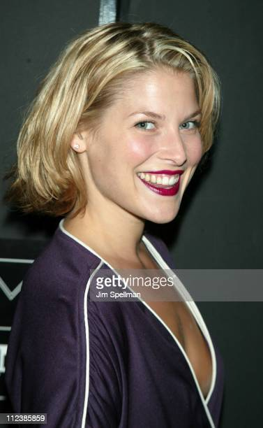 Ali Larter during 2002 IFP/ New York Gotham Awards at Pier Sixty Chelsea Piers in New York City New York United States