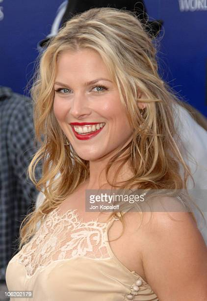 Ali Larter during 2007 Taurus World Stunt Awards Arrivals at Paramount Studios in Los Angeles California United States