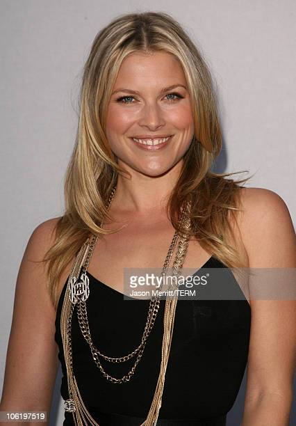 Ali Larter during 2007/2008 Chanel Cruise Show Presented by Karl Lagerfeld at Hangar 8 in Santa Monica California United States