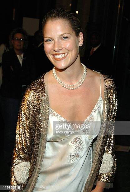 Ali Larter during American Eagle Outfitters Rocks New York with a Back to School Tailgate Party at American Eagle Store in New York City New York...