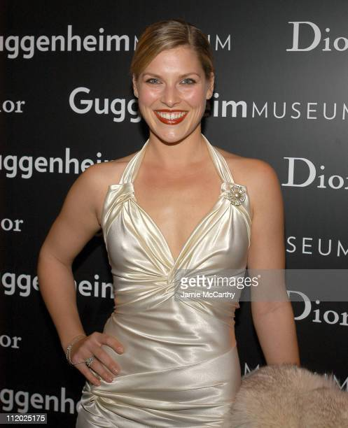 Ali Larter during Dior Sponsors Artist's Ball Honoring Matthew Ritchie Red Carpet and Inside at Guggenheim Museum in New York City New York United...