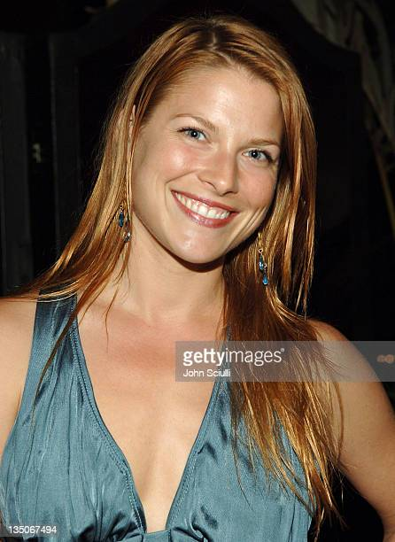 Ali Larter during Dolce Gabbana Honors the Salma Hayek Foundation at Roosevelt Hotel in Los Angeles California United States