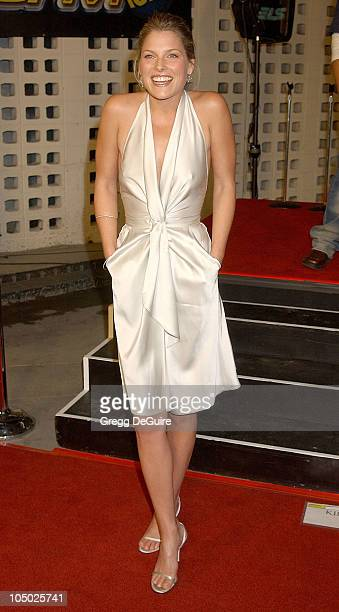 Ali Larter during Final Destination 2 Premiere at Cinerama Dome in Hollywood California United States