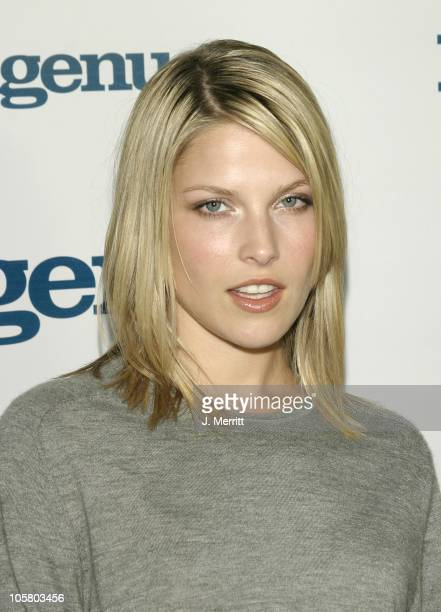 Ali Larter during Ingenue Magazine Launch Party Arrivals at SkyBar At The Mondrian Hotel in West Hollywood California United States