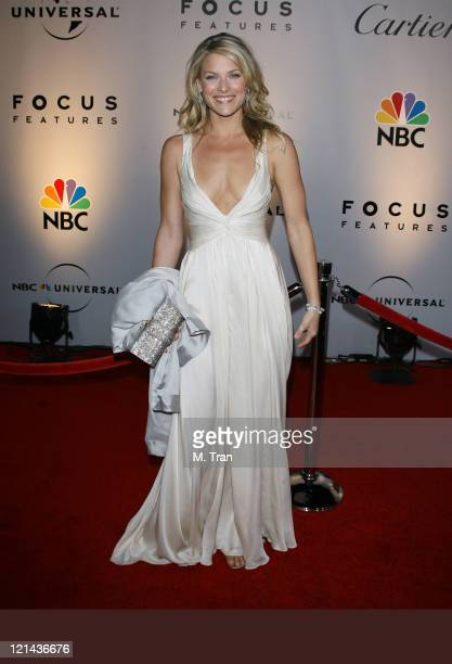 Ali Larter during NBC Universal Golden Globe After Party at Beverly Hilton Hotel in Beverly Hills Calfirnia United States