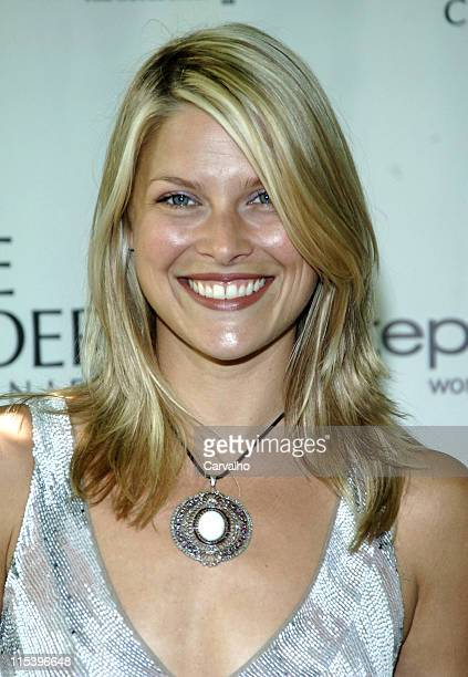 Ali Larter during Step Up Women's Network Hosts 'Inspiration Awards' at Central Park Boathouse in New York City New York United States