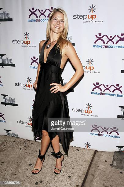Ali Larter during Step Up Women's Network Hosts Sugar and Spice 2005 at Home in New York City New York United States